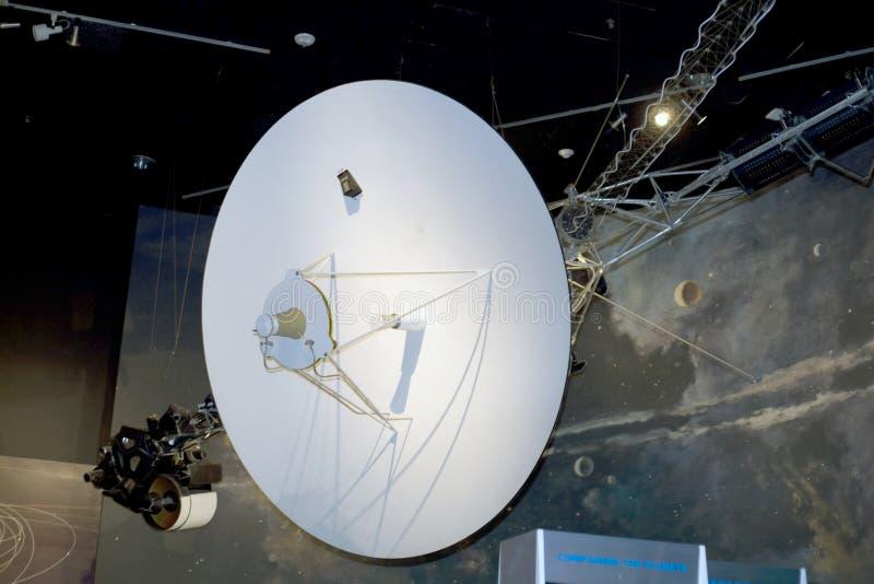 Nave espacial do Voyager foto de stock