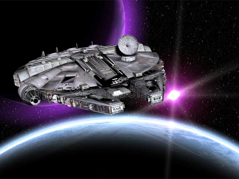 nave espacial dos Star Wars