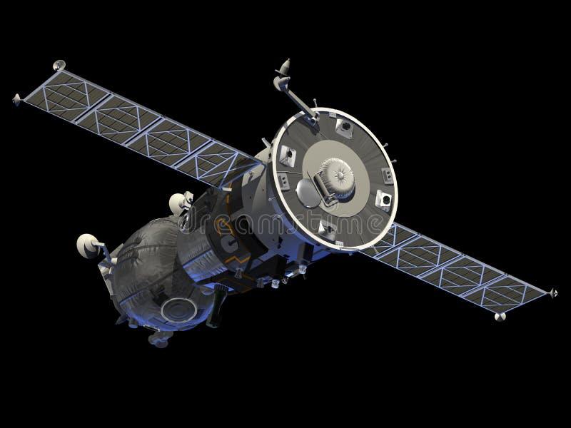 Nave espacial Soyuz libre illustration