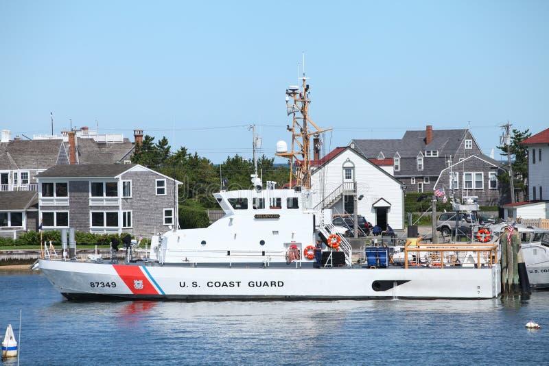 Nave Nantucket, mA del guardacostas imagenes de archivo