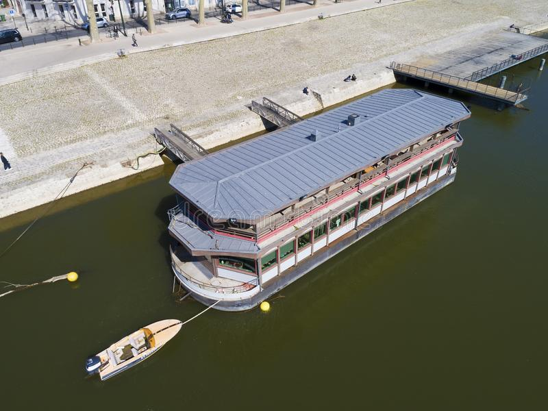 Nave a Orleans, il Loiret, centro-Val de la Loira immagini stock libere da diritti