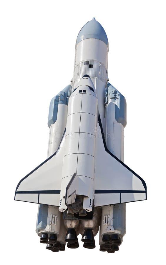 Nave spaziale Buran in Samara, Russia immagini stock libere da diritti