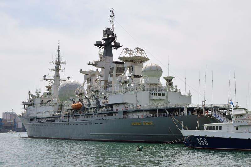 Nave speciale di Krylov del maresciallo Vladivostok, Russia immagine stock