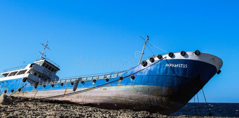 Nave trenzada en el buggiba 12 de las rocas 03 2018 foto de archivo libre de regalías