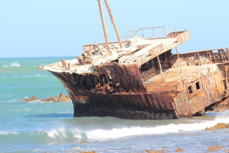 Nave trenzada Suráfrica de Aghulas del cabo foto de archivo libre de regalías