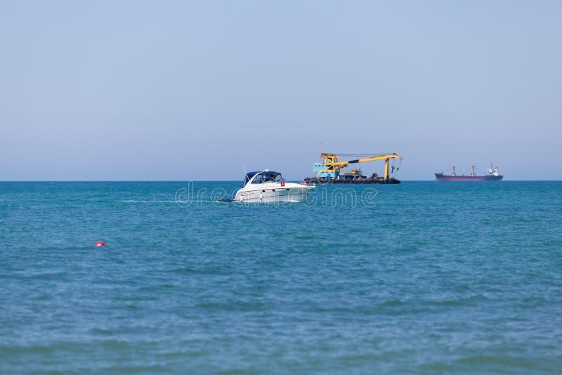 Navegação no Mar Negro fotos de stock royalty free