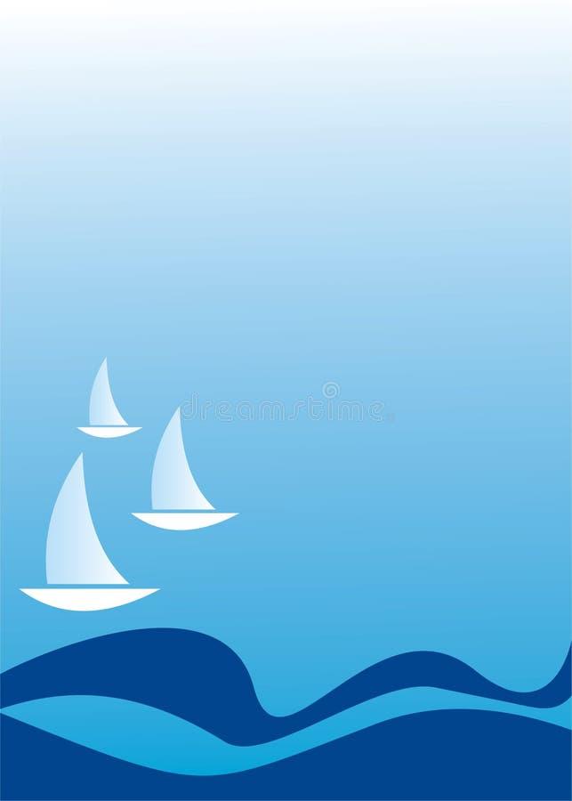 Navegación ilustración del vector