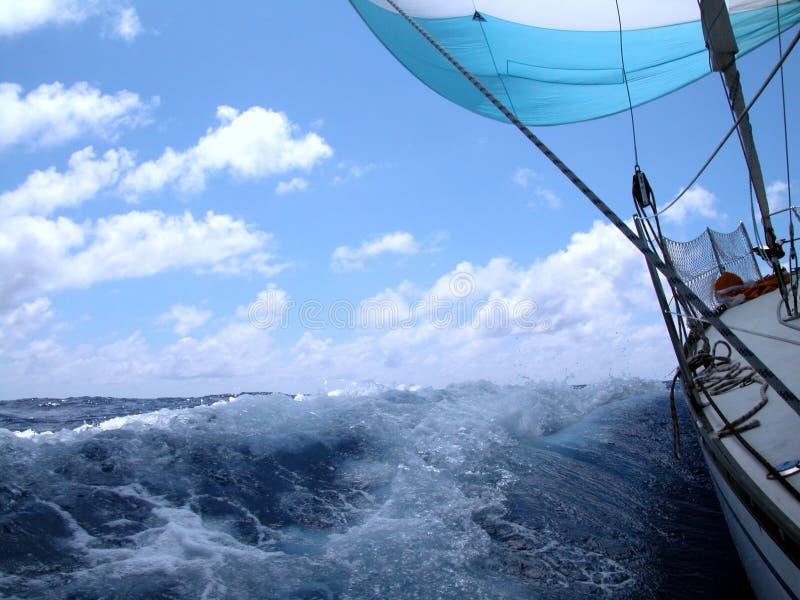 Navegación con el viento fotos de archivo libres de regalías