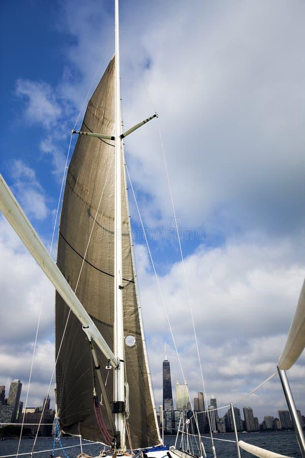 Navegación en Chicago imagen de archivo libre de regalías