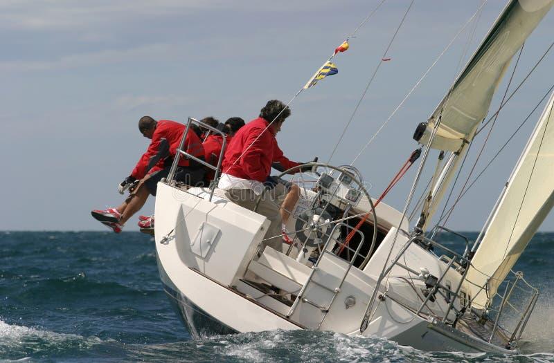 Navegación en el mediterráneo   imagen de archivo