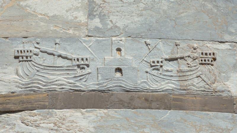 Navegación en las Edades Medias imagen de archivo libre de regalías