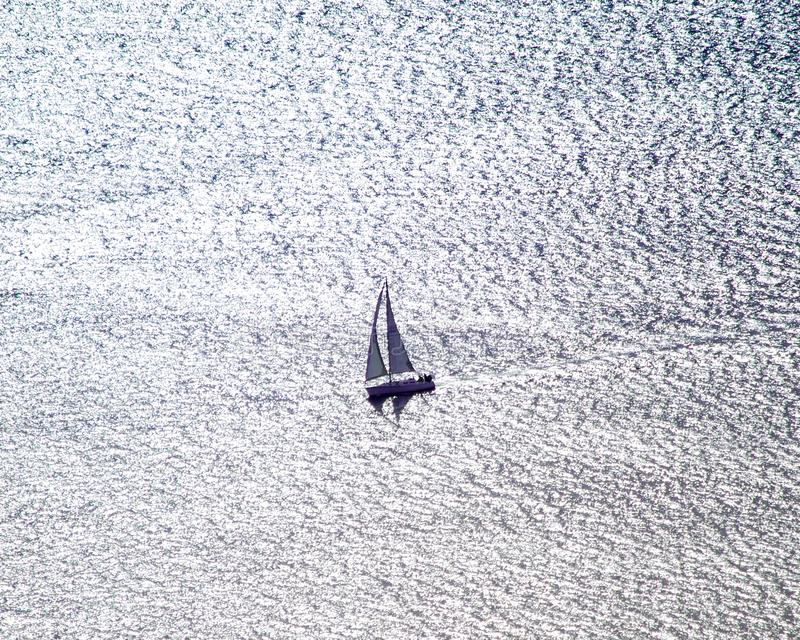 Navegación en Puget Sound fotos de archivo