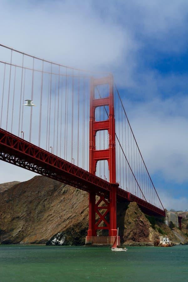 Navegación en San Francisco Bay imagen de archivo libre de regalías