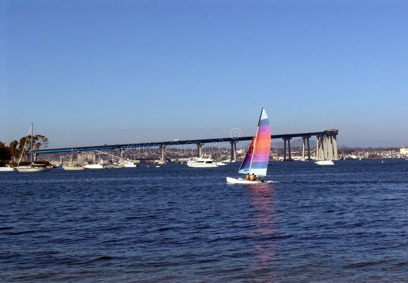 Navegación San Diego imagenes de archivo