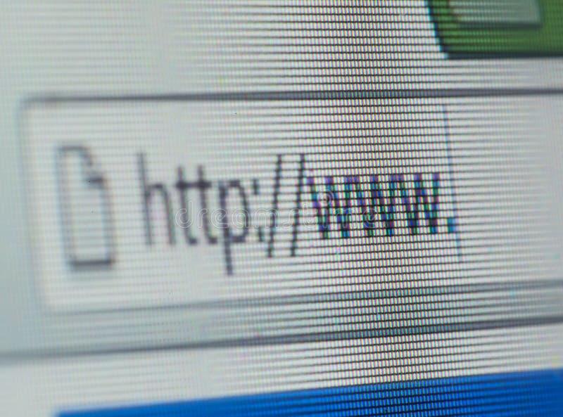Navegador de Internet foto de stock