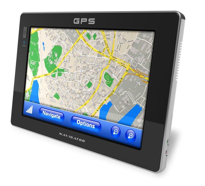 Navegador del GPS libre illustration