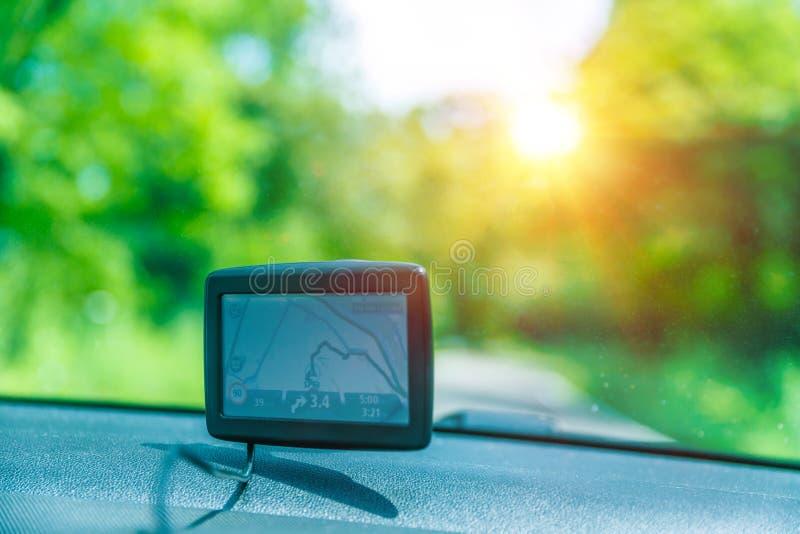 Navegador do GPS imagens de stock