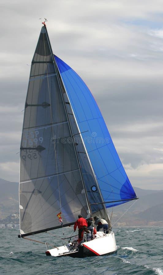 Navegando, #8 yachting imagens de stock