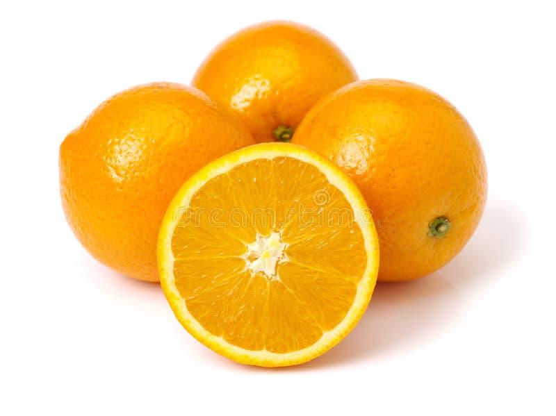 Navelsinaasappelen royalty-vrije stock afbeeldingen