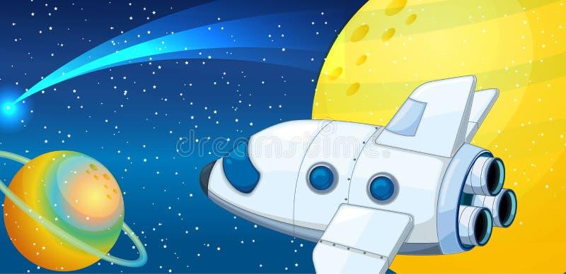 Navette spatiale illustration libre de droits
