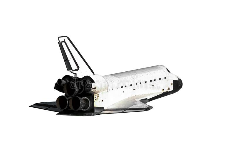 Navette spatiale d'isolement photographie stock