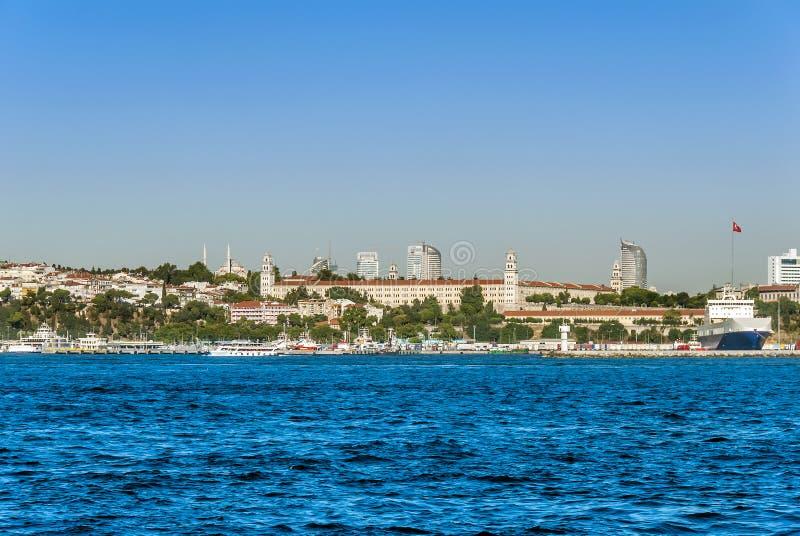 Navi al porto dell'harem fotografia stock libera da diritti