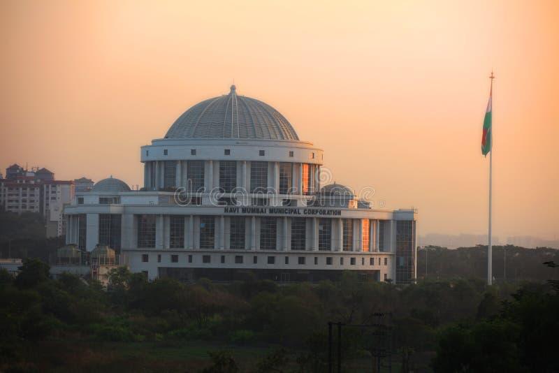 Navi Mumbai muncipal korporation arkivfoton