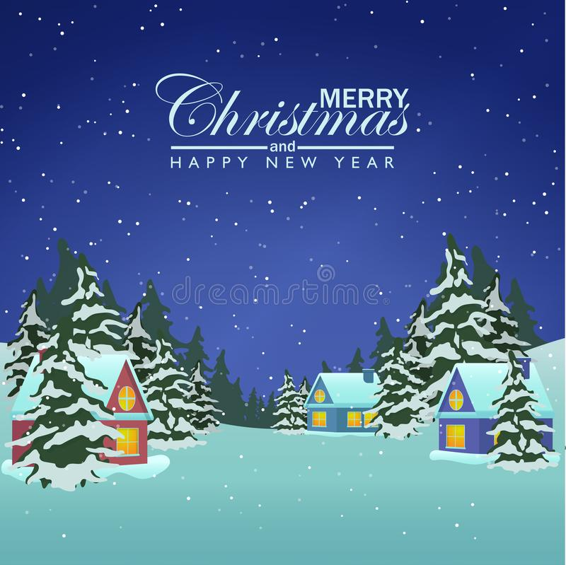 Navidad ilustración del vector