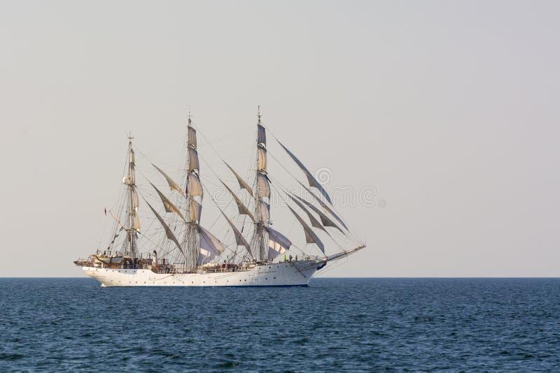 Navigação alta de Christian Radich do navio fotos de stock royalty free