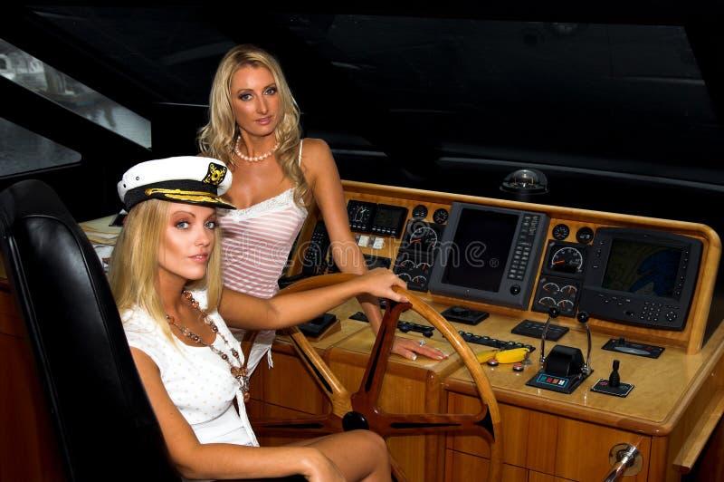 Navigação Blonds fotos de stock