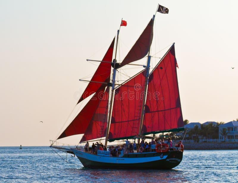 Navigação de Key West imagem de stock royalty free