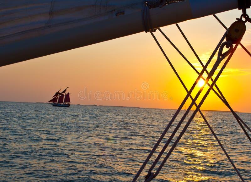 Navigação de Key West fotos de stock royalty free
