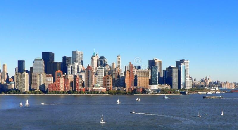 Navigação do Lower Manhattan fotos de stock