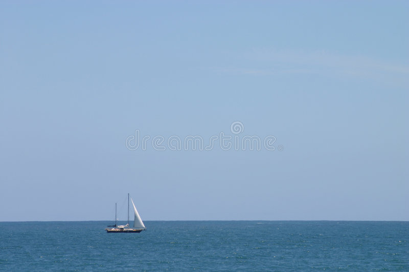 Download Navigação do verão foto de stock. Imagem de sunshine, solitary - 57946