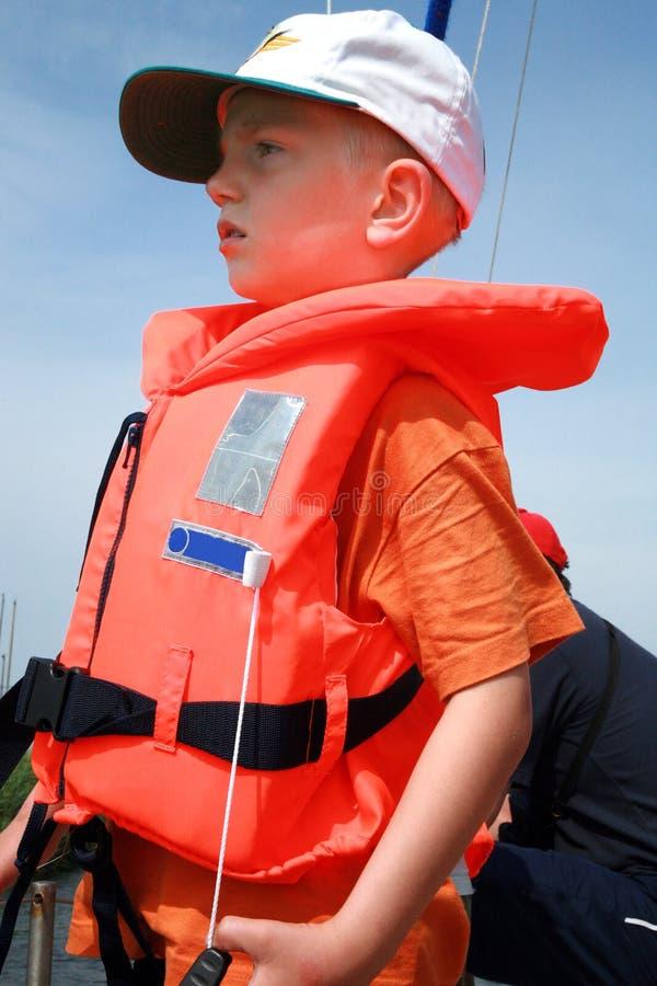 Navigação do verão da família. foto de stock royalty free
