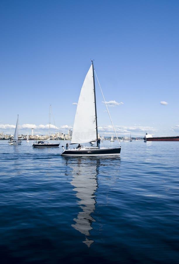Navigação em Seattle fotos de stock royalty free