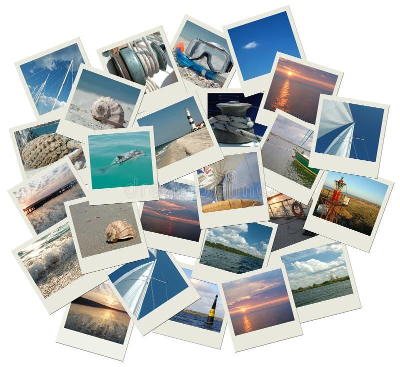 Navigação em torno do mundo fotografia de stock