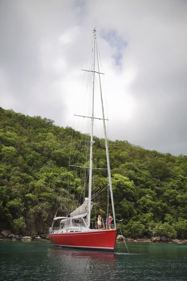 Navigação nos tropics fotos de stock