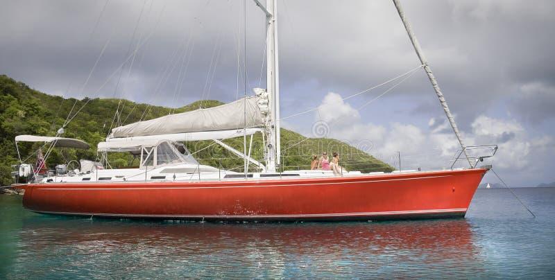 Navigação nos tropics imagem de stock royalty free