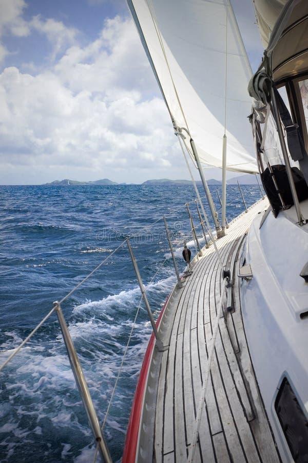 Navigação nos tropics fotos de stock royalty free