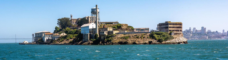 Navigando dopo Alcatraz a San Francisco immagini stock