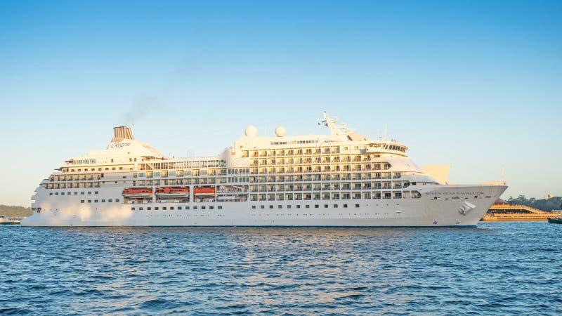 Navigateur de sept mers à Sydney photos stock