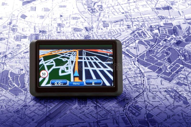 Navigateur satellite photos libres de droits