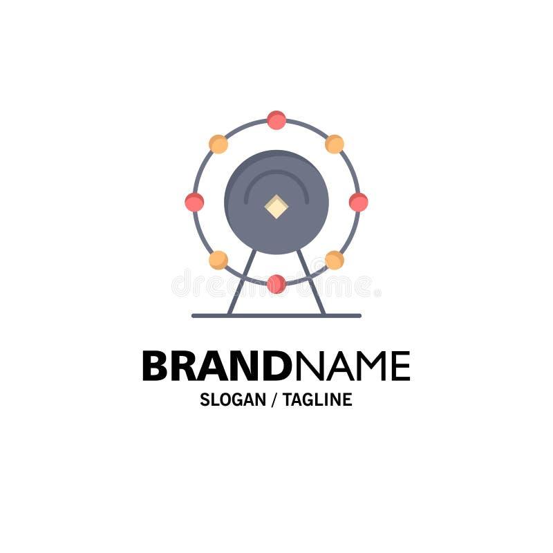 Navigateur, Wifi, service, affaires Logo Template d'hôtel couleur plate illustration de vecteur