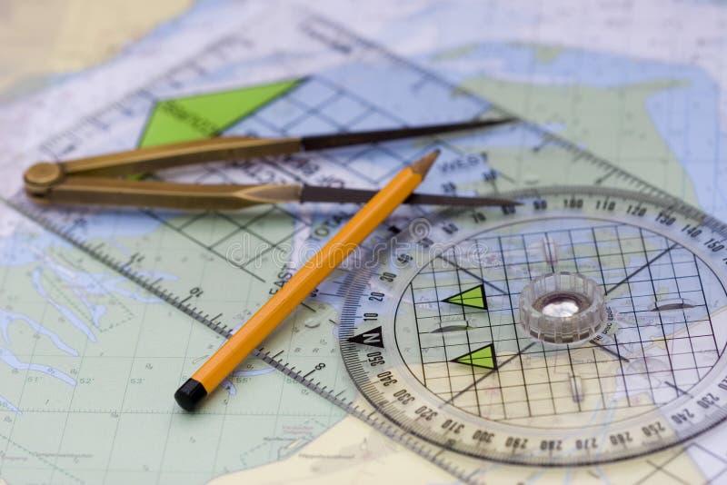 Navigatie stock afbeeldingen