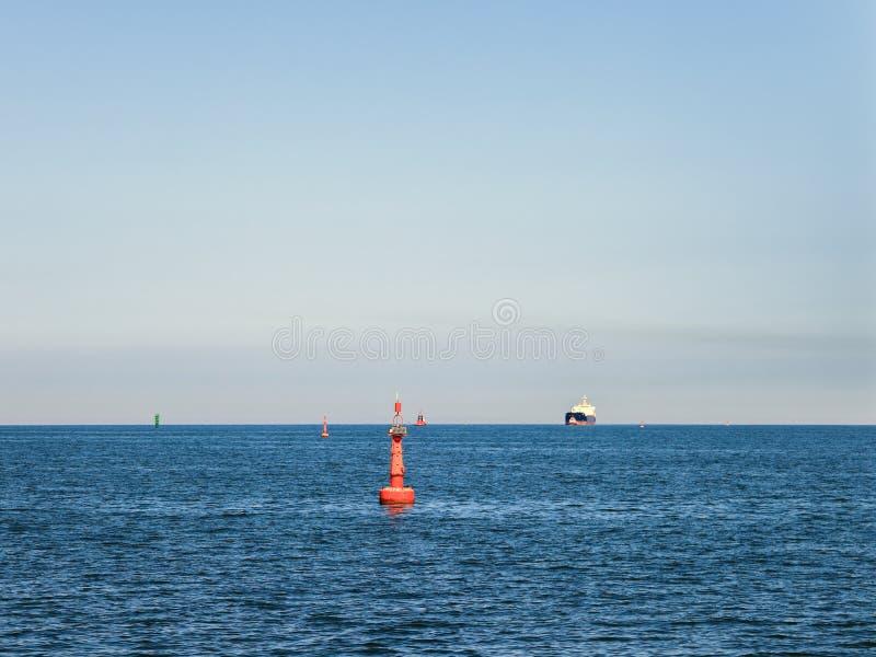 Navigatie op zee stock afbeeldingen