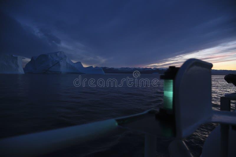 Navigatielicht van een schip royalty-vrije stock afbeelding