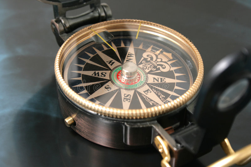 Download Navigating compass stock image. Image of compass, magnetic - 8179463