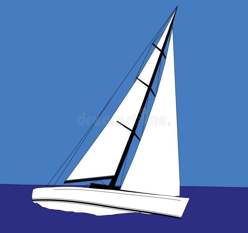 Navigation illustration libre de droits
