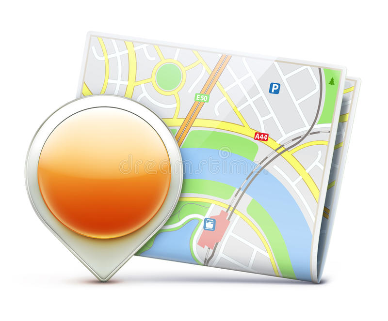 Download Navigation concept stock vector. Image of searching, icon - 29205705